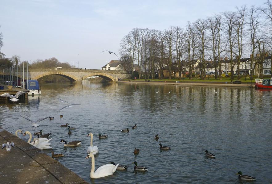 River Avon, Evesham