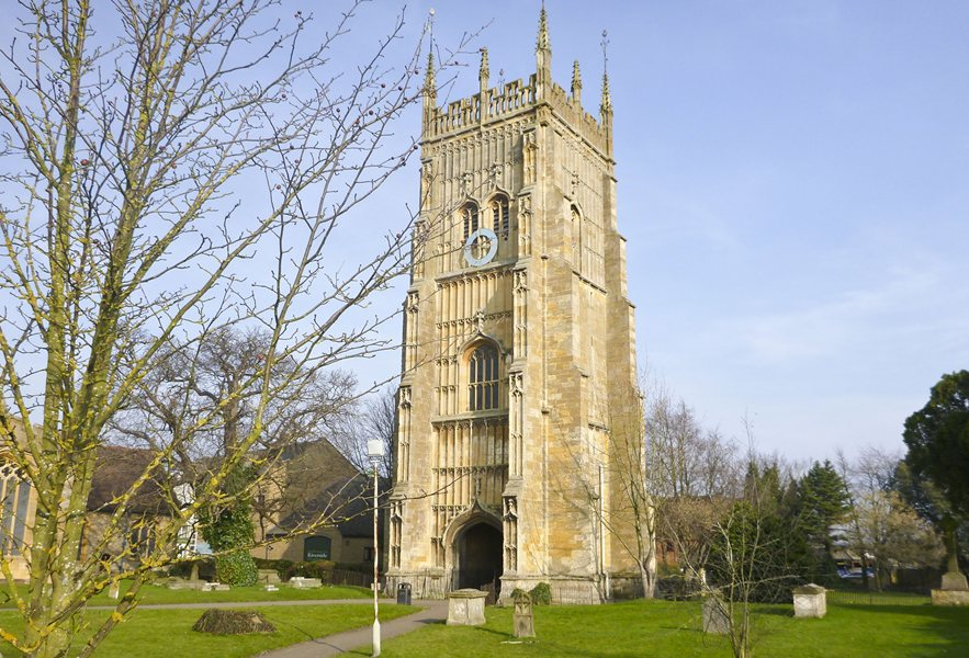 All Saints` Church, Evesham