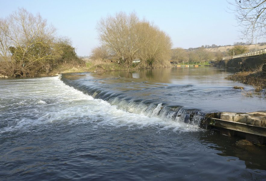 Weir on River Avon