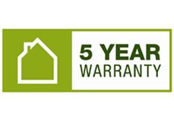 Barratt 5 Year Warranty