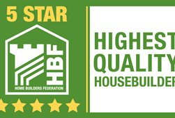 5 star housebuilder logo