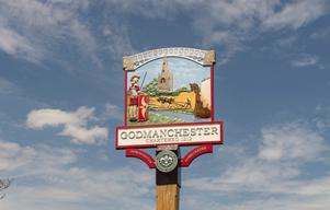 Godmanchester+sign