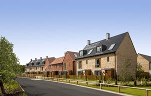 A+street+view+at+Trumpington+Meadows