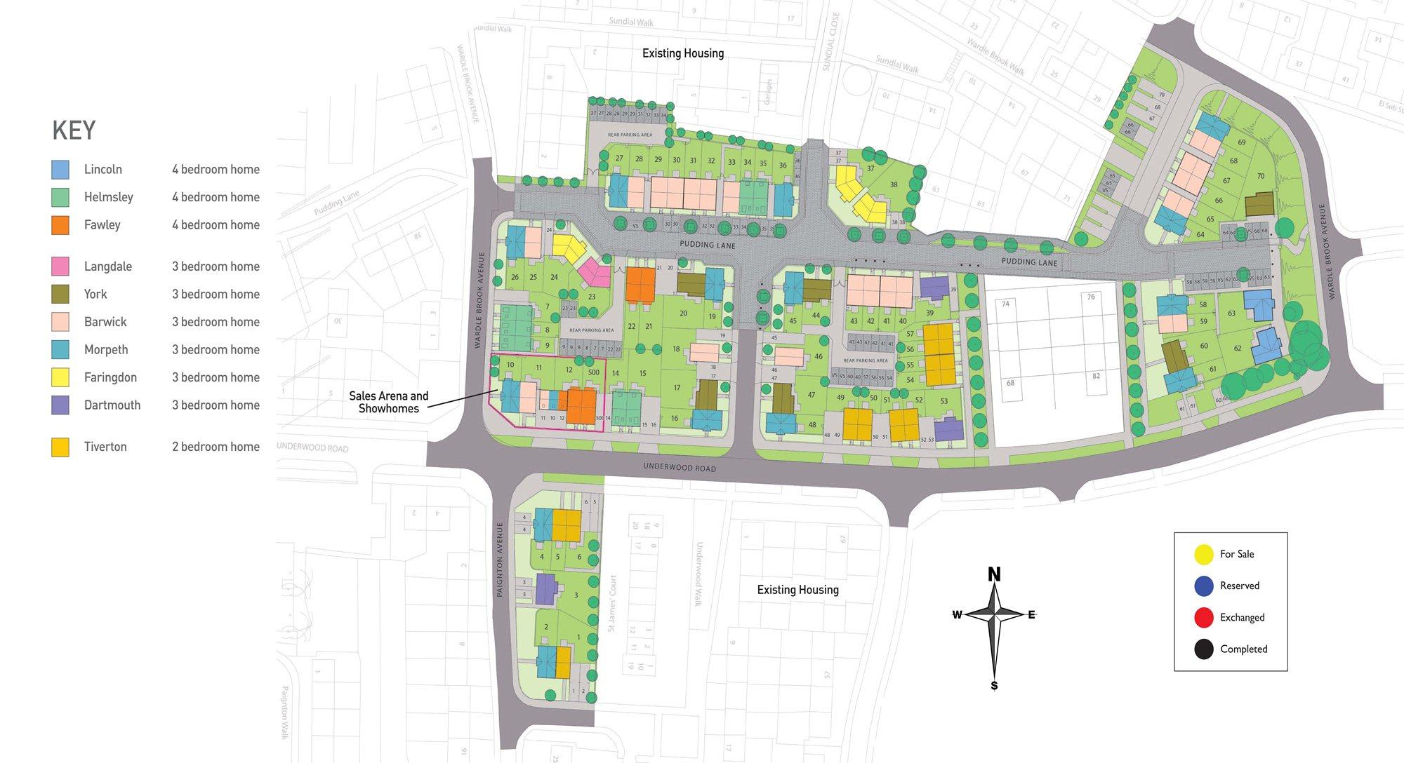 Hillside Phase 1 Site Plan