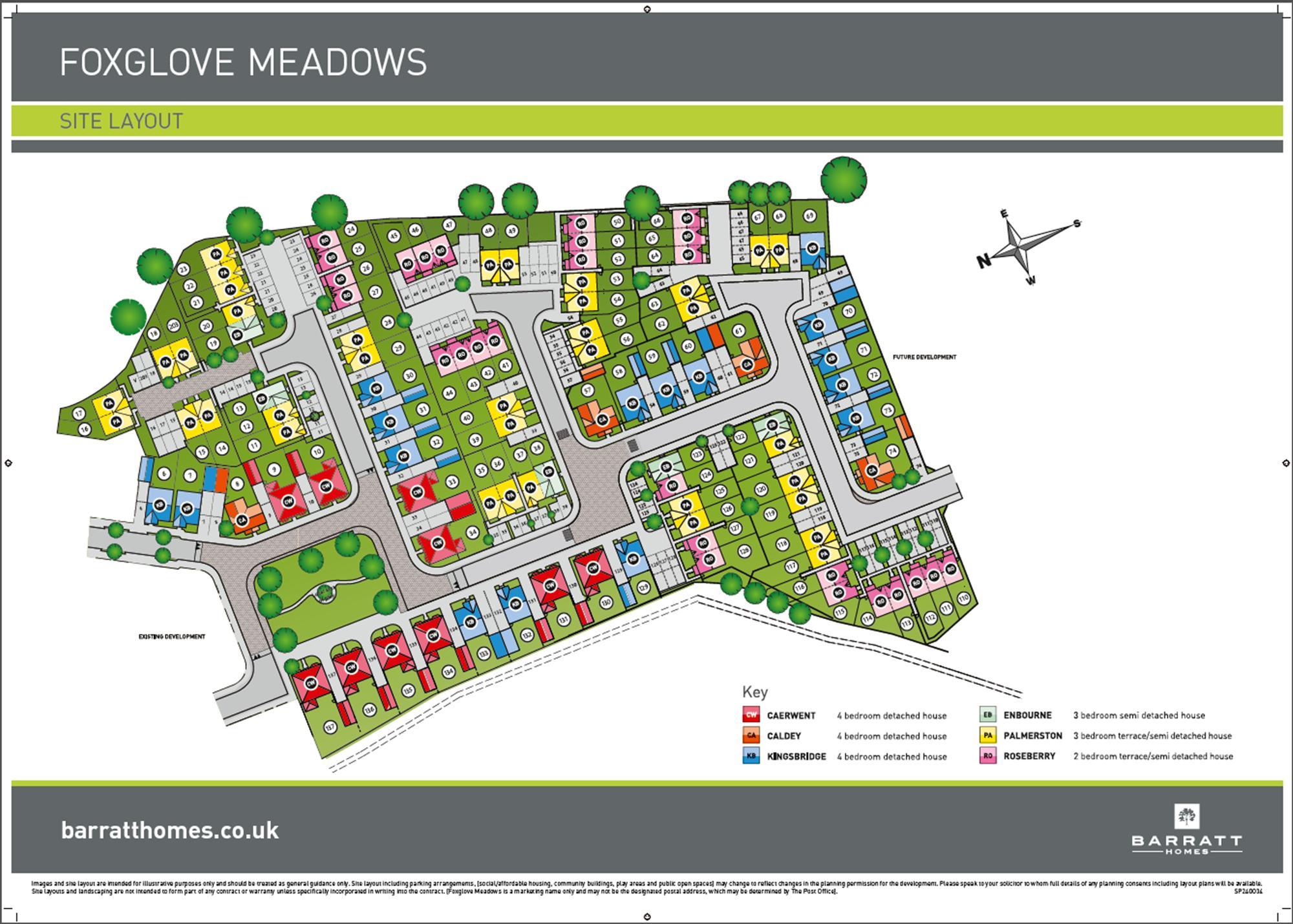 Foxglove Meadows Phase 1 Site plan