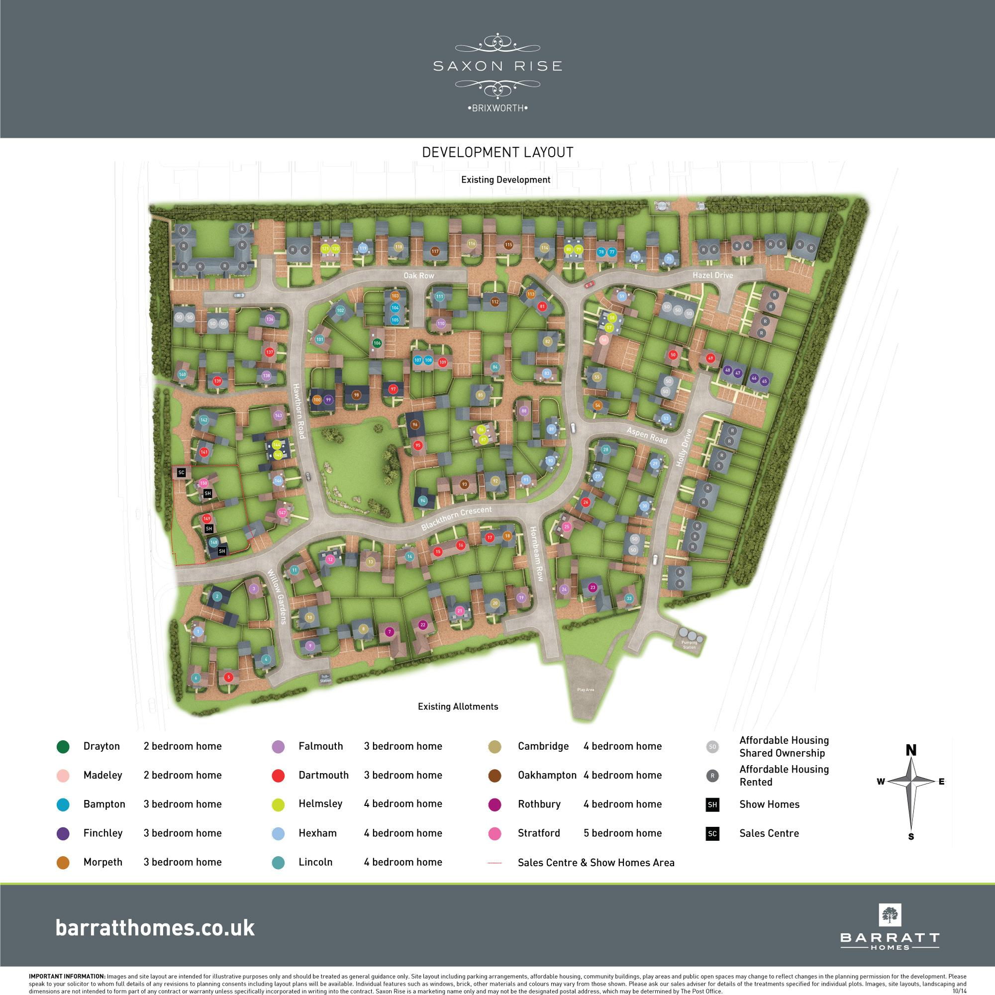 Saxon Rise development plan