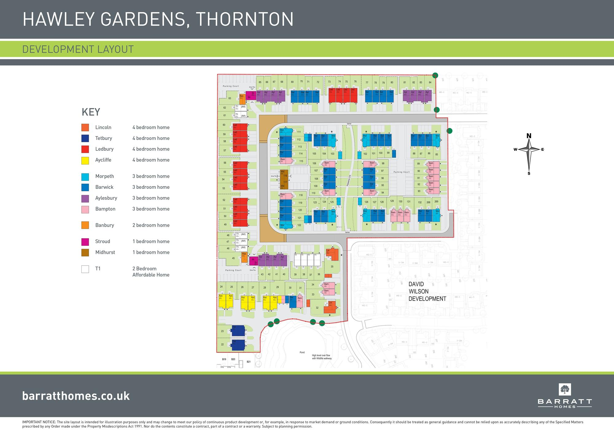 Hawley Gardens Phase 1 site plan