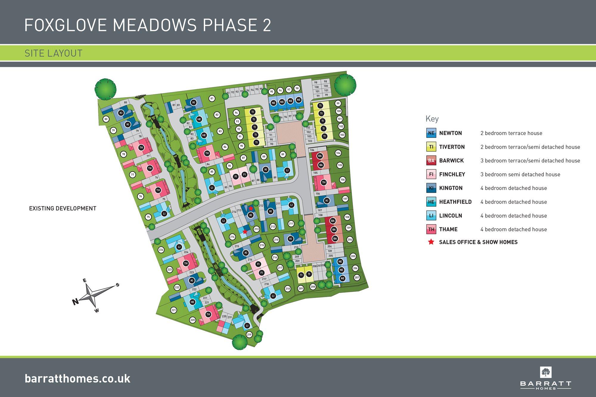 Foxglove Meadows Phase 2 site plan