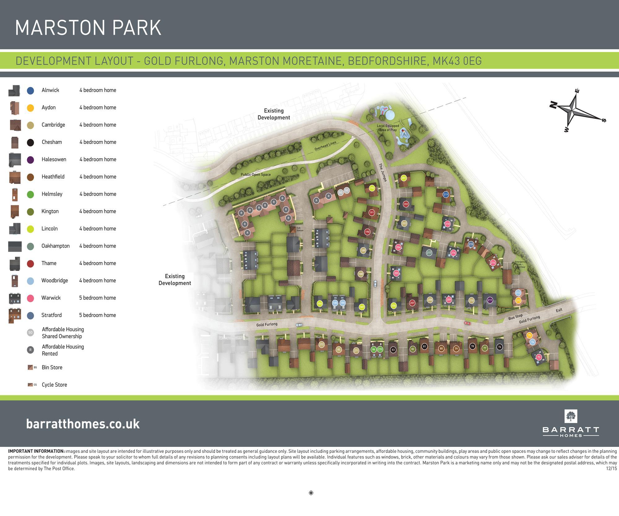 Marston Park ph2 (coming soon) site plan