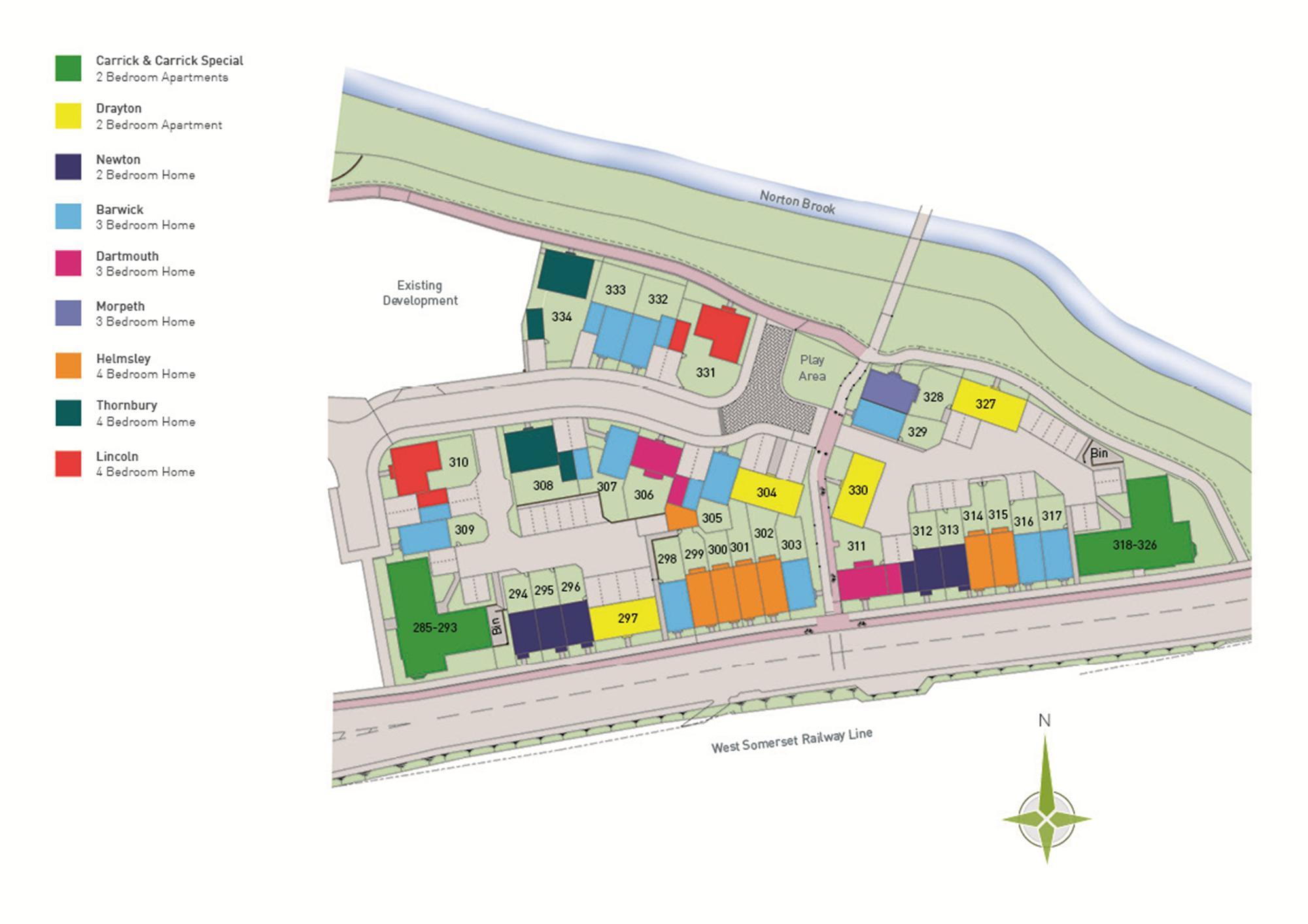 Development layout - Phase 2