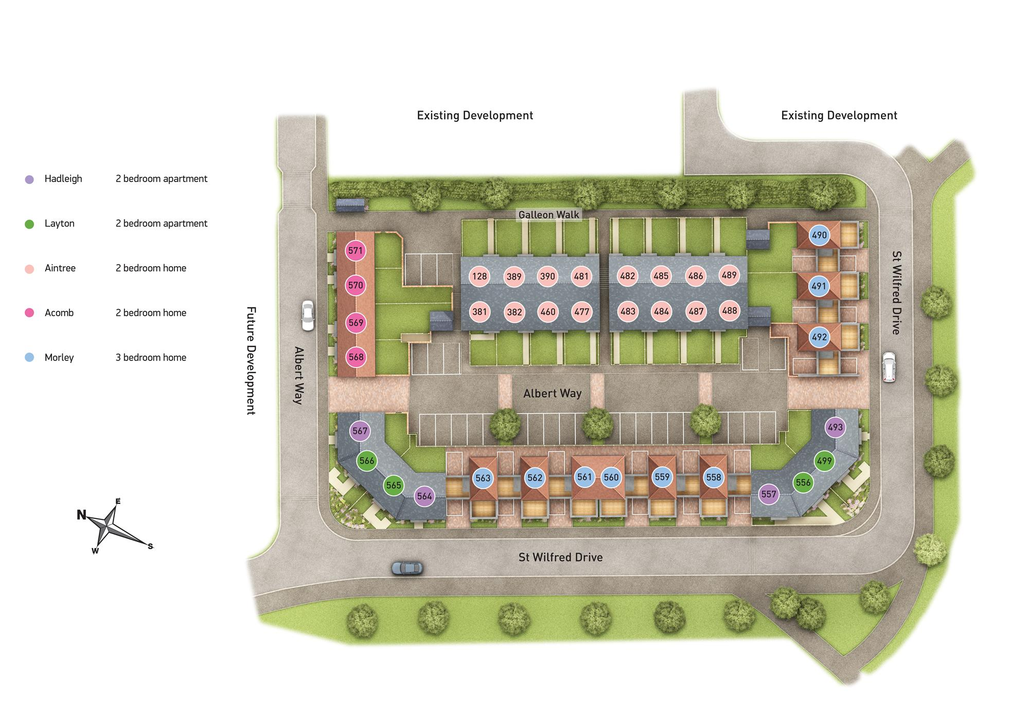 New Phase site plan