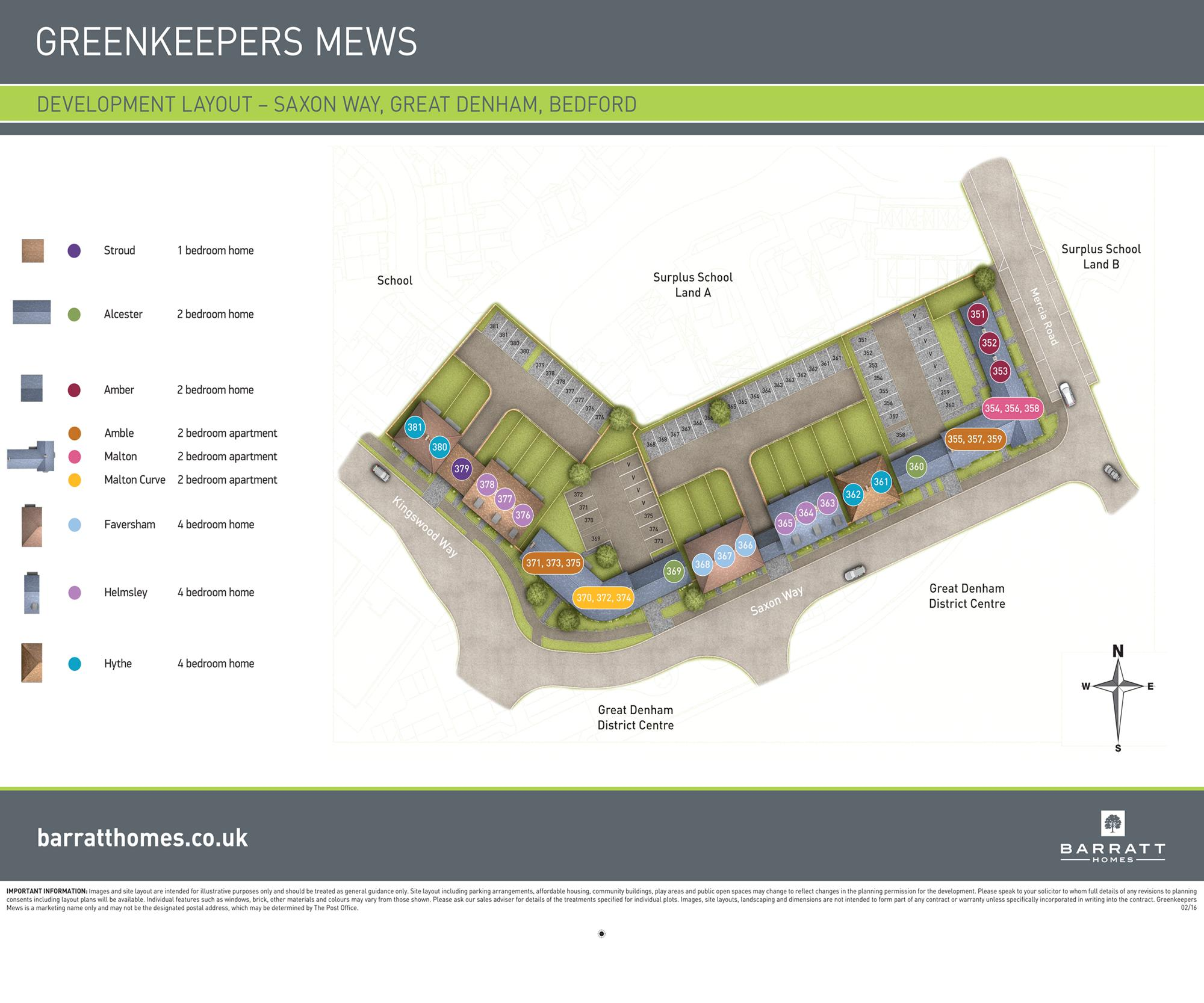 Greenkeepers Mews ph4 development plan