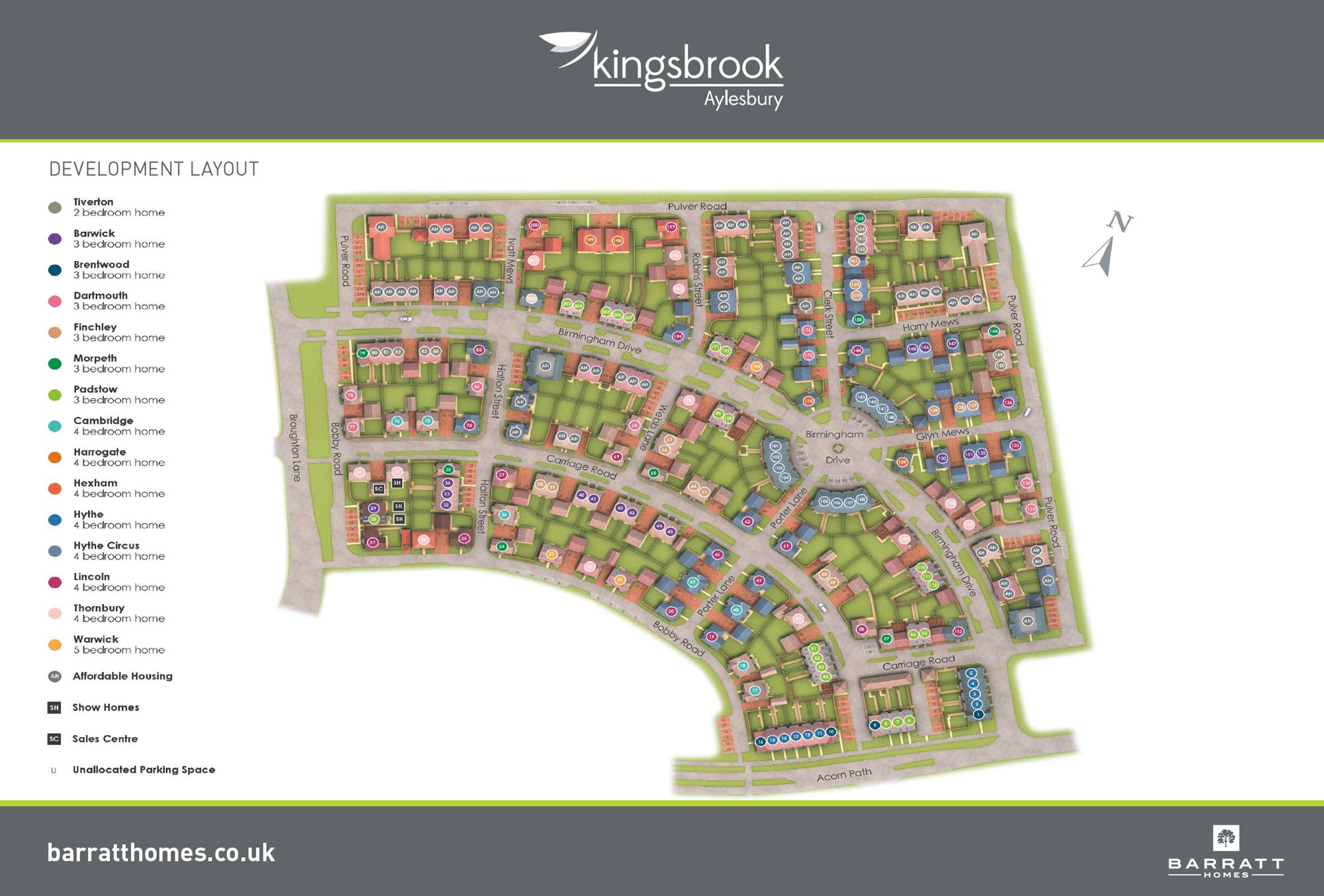 Phase 1 Oakfield Village site plan