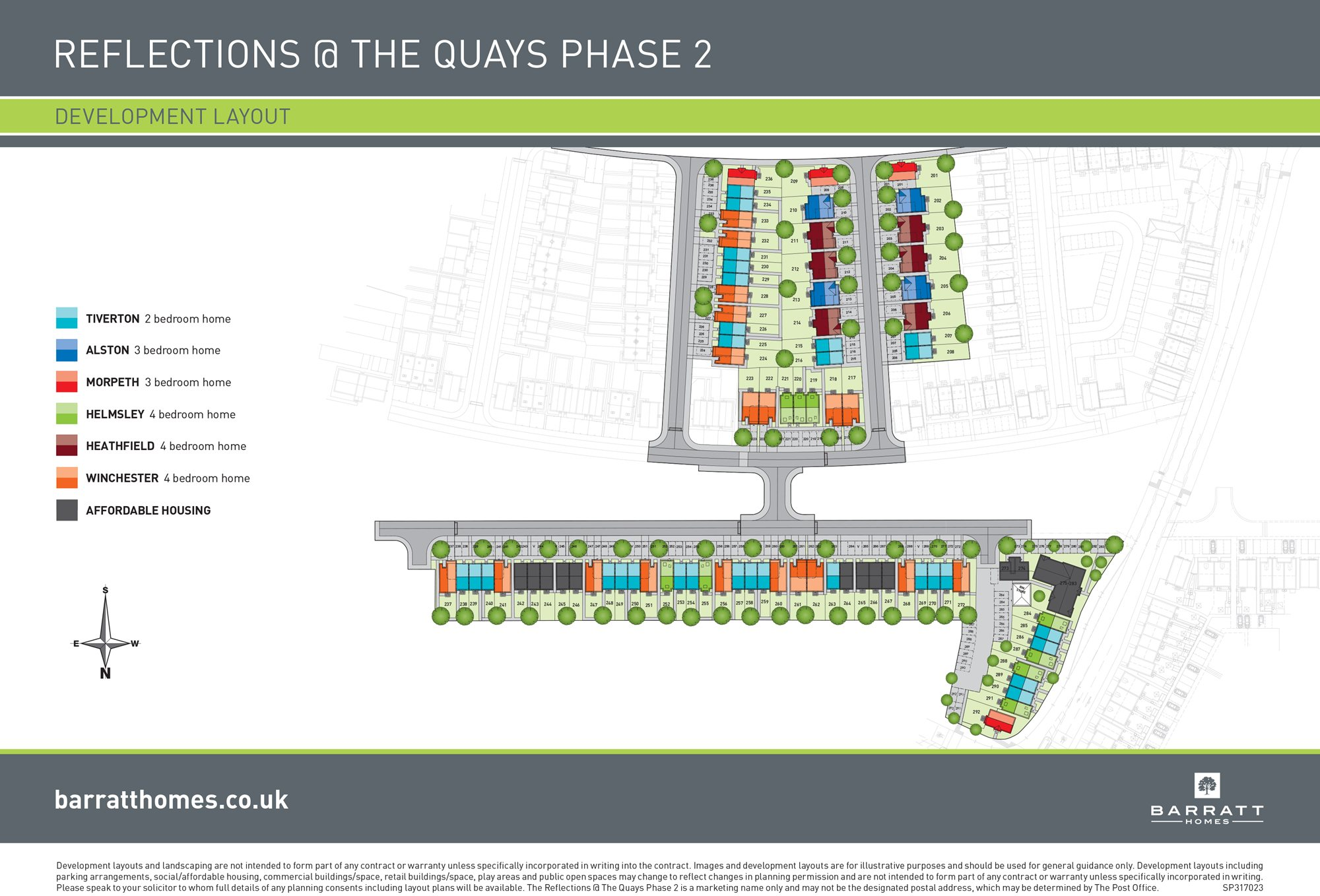 Reflections %40 The Quays site plan