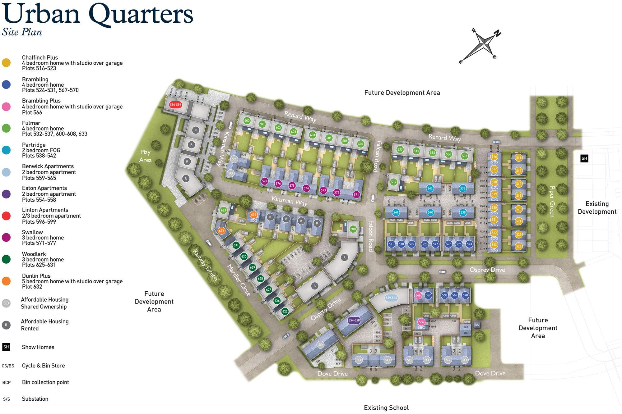 Phase 9 site plan