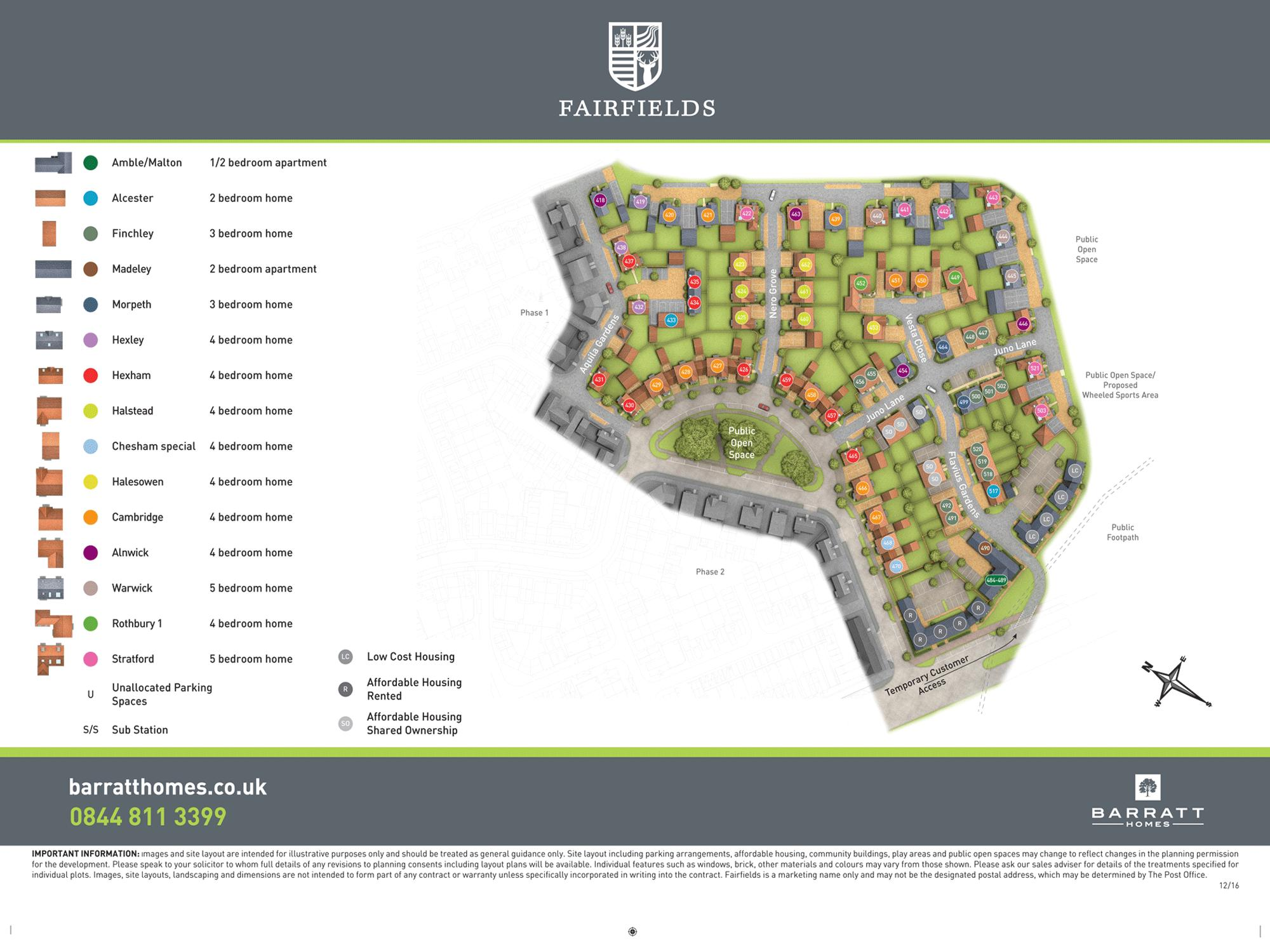 Fairfields phase 3 development plan