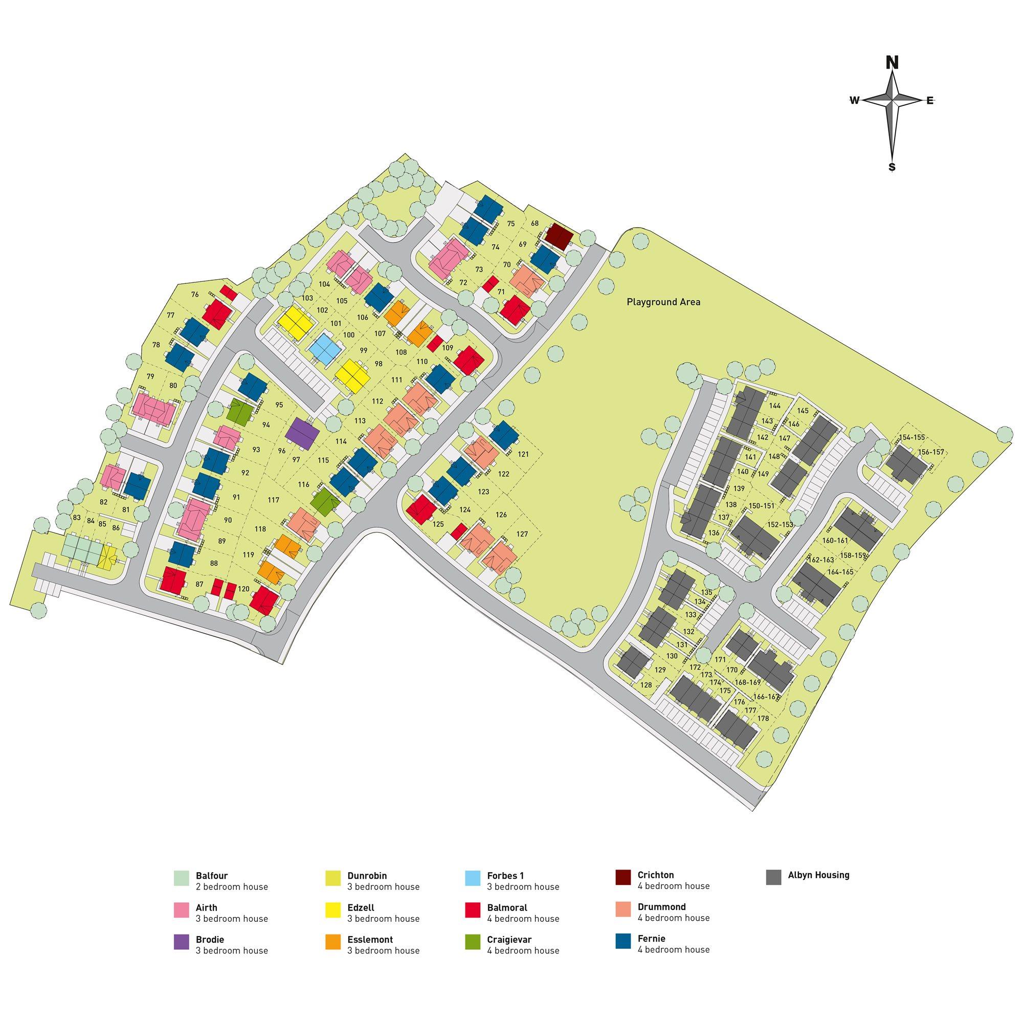 Ness Castle Site Plan