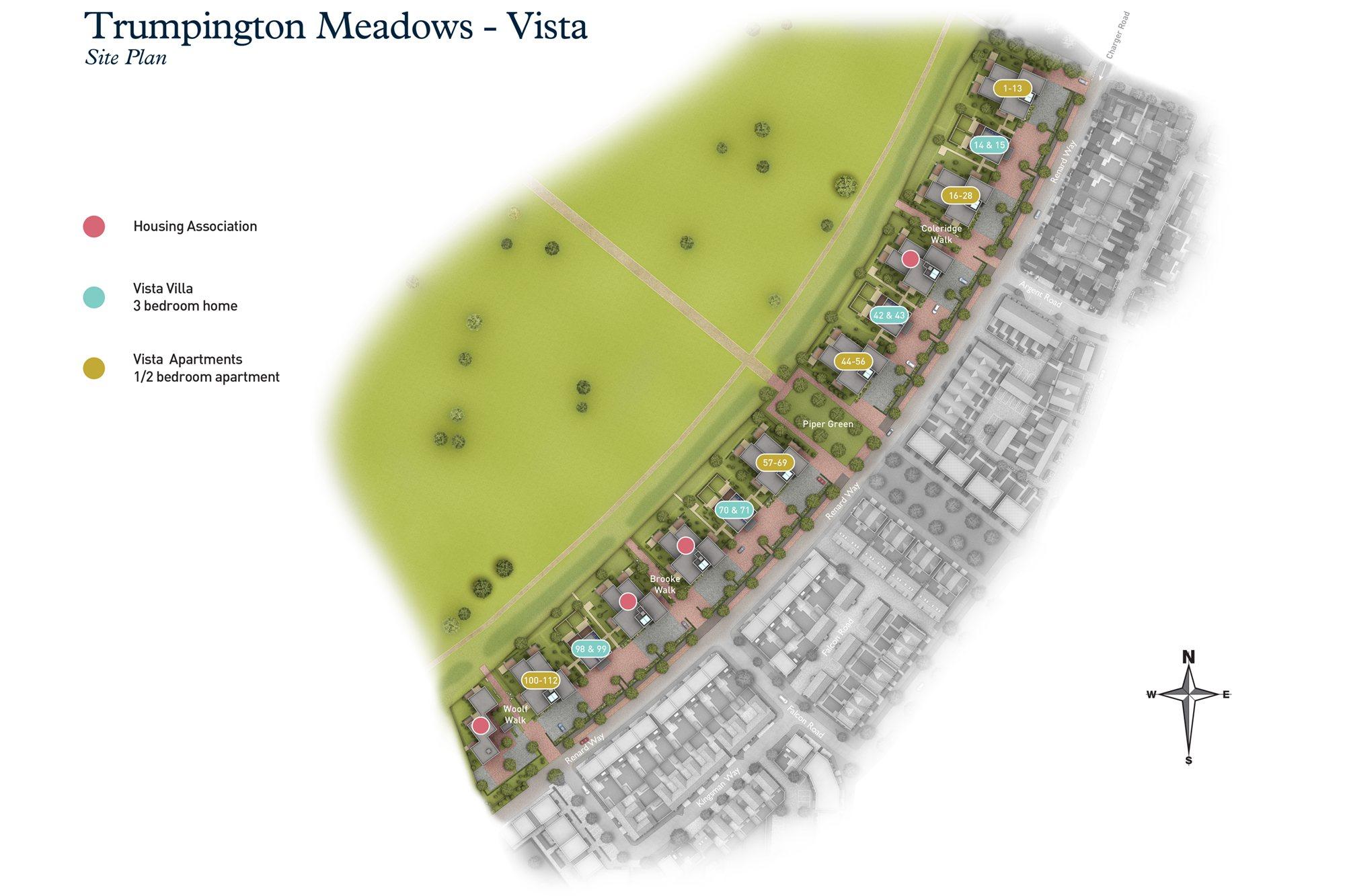 Vista Site Plan
