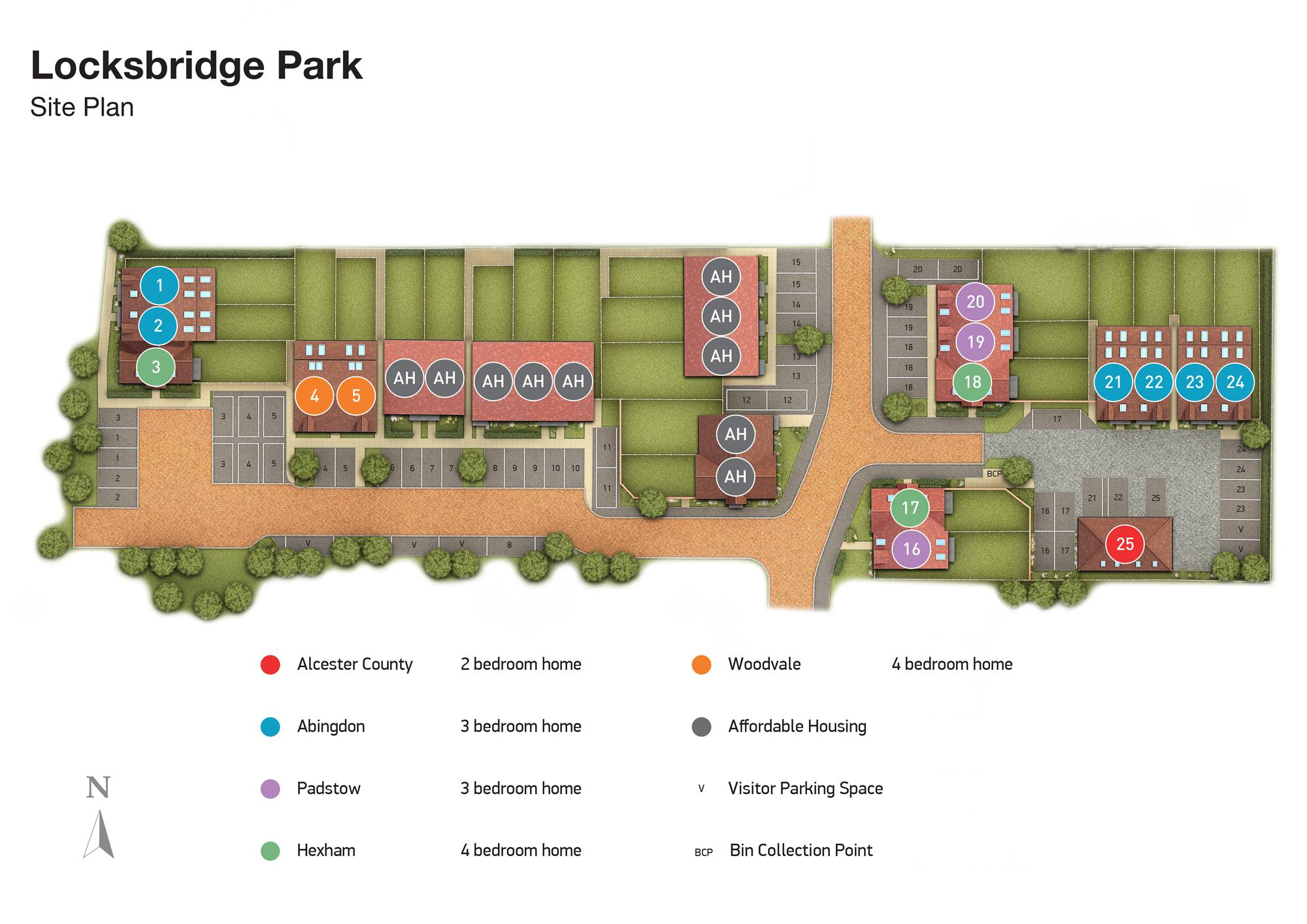 Locksbridge Park phase 3 site plan