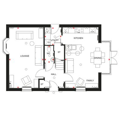 Cornell+ground+floor+plan