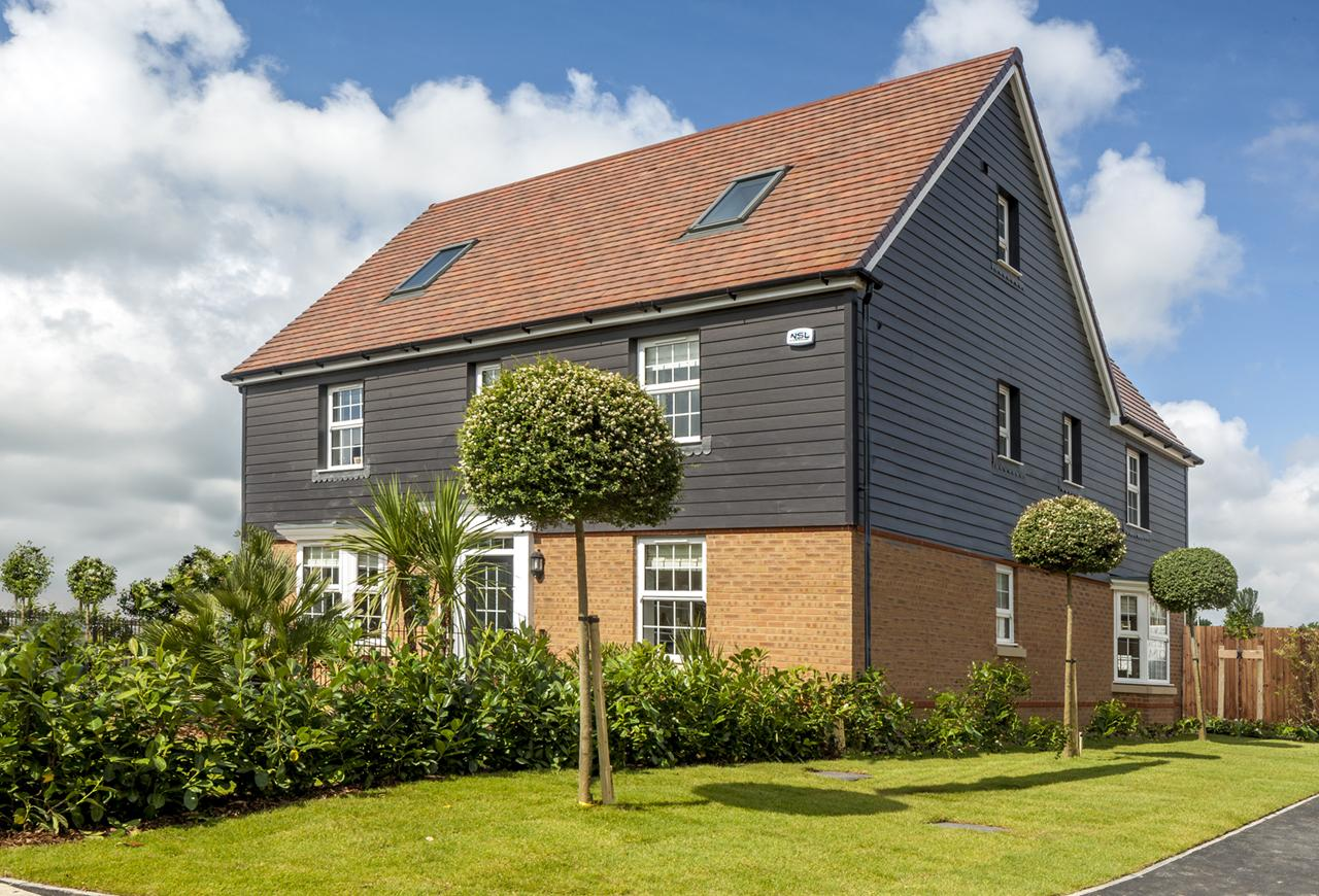 New homes at Preston Grange, near Canterbury