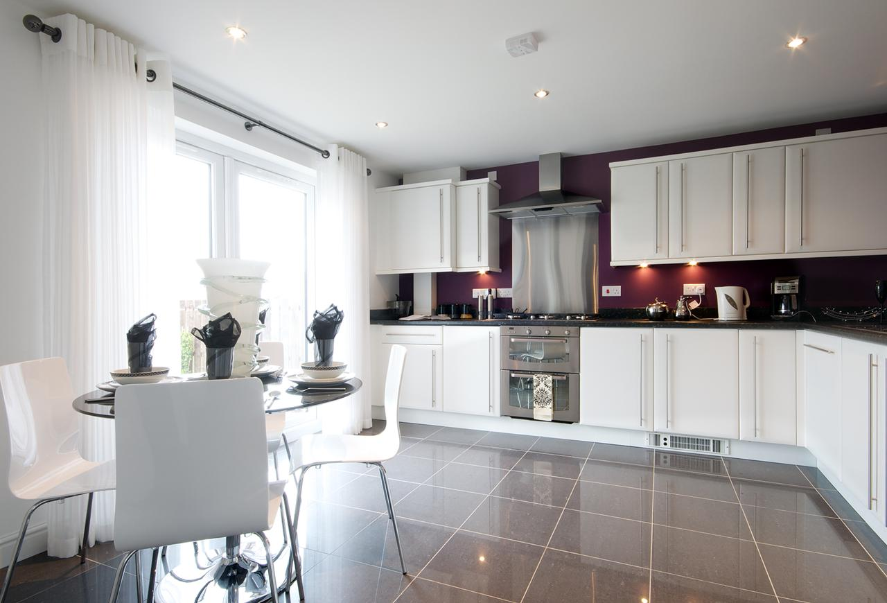 Admiral Way Strathaven Showhome Kitchen