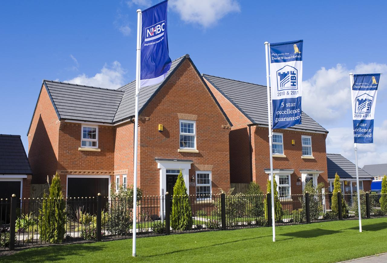 Show homes at Lincoln Green