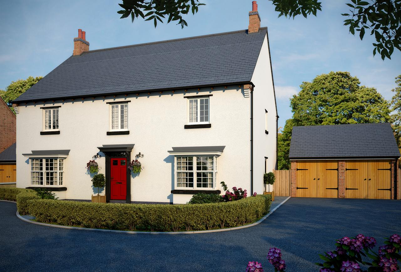 The Donington is a five bedroom home for sale in Castle Donington