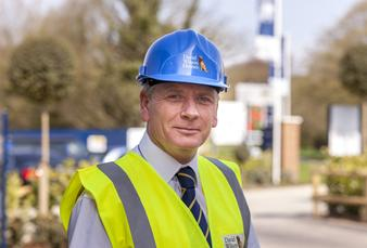 Contracts Manager, Mark Fairman