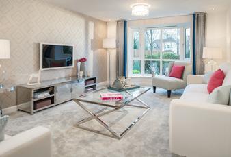 living room at Croft Gardens