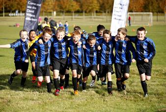 Harwell under 11`s football team