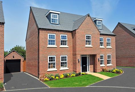 The grand 5 double bedroom Lichfield home