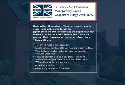 Best of British Festival 22nd November 2014