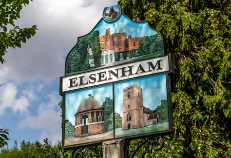 Elsenham village sign