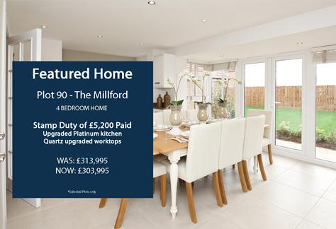 Featured Home - The Millford plot 90