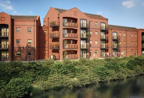 Stunning new waterside apartments