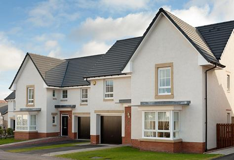 New homes in Prestonpans