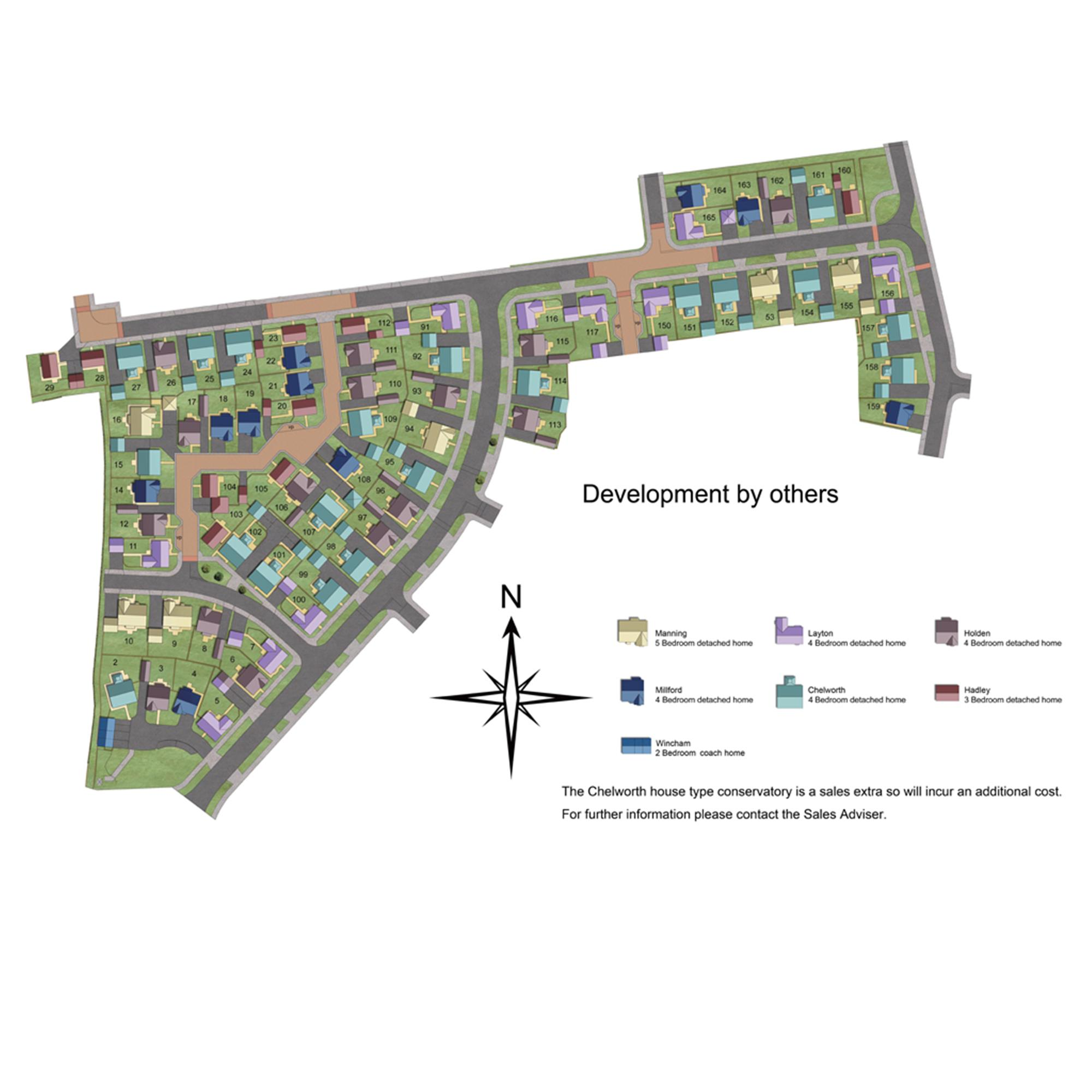Pembridge Park Phase 1 Site Plan