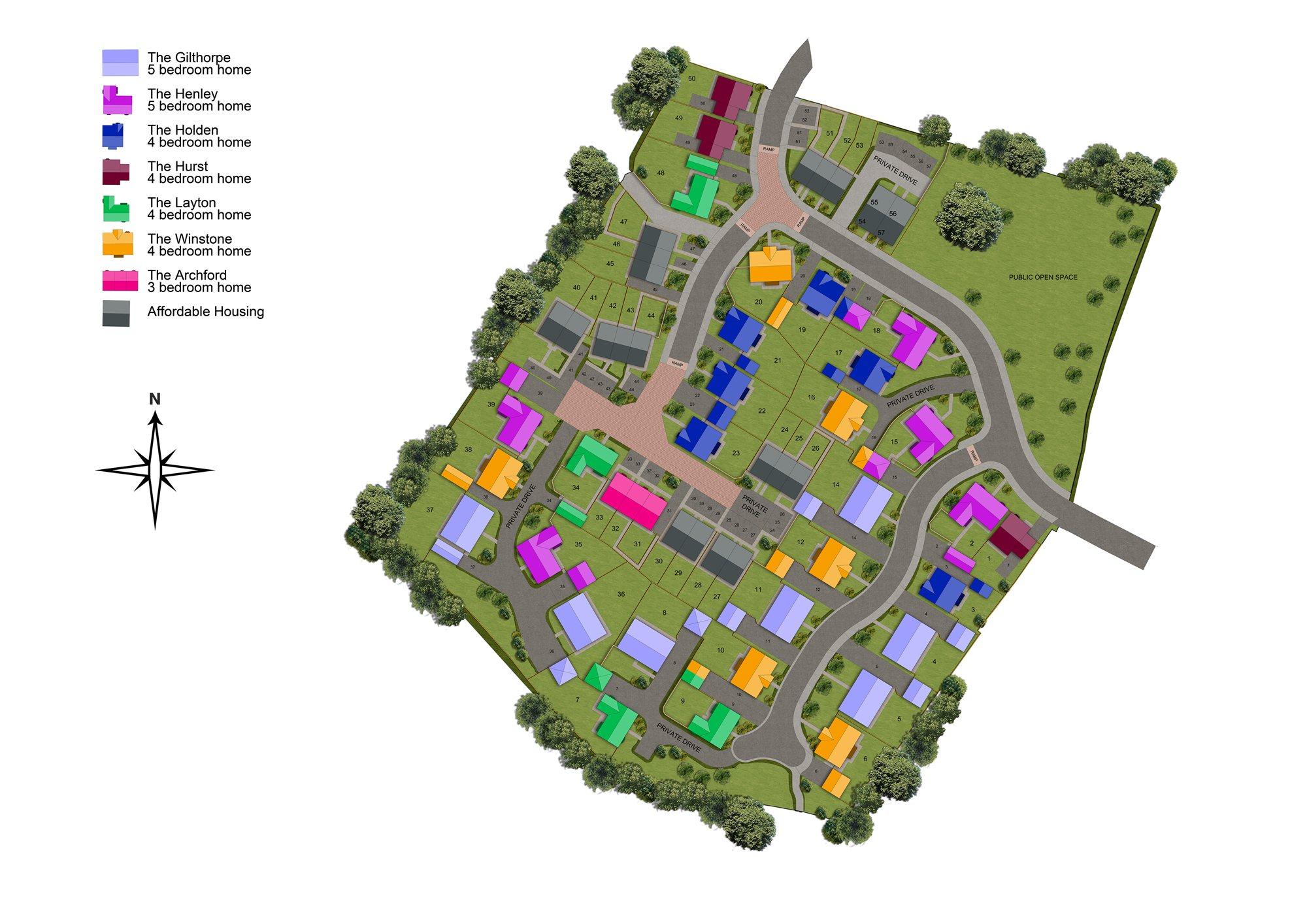 Grange Park Site plan
