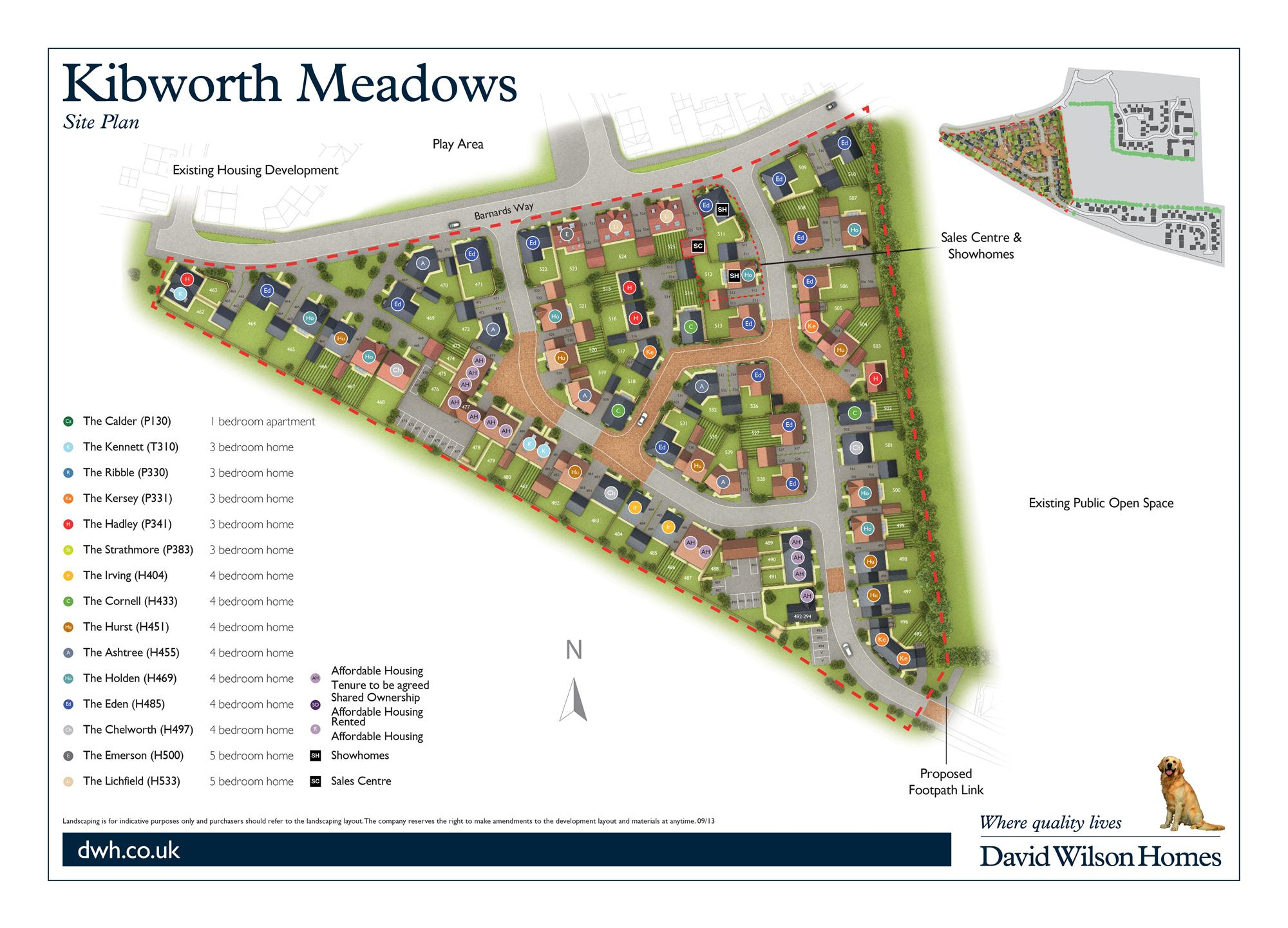 Kibworth Meadow site plan Phase 4