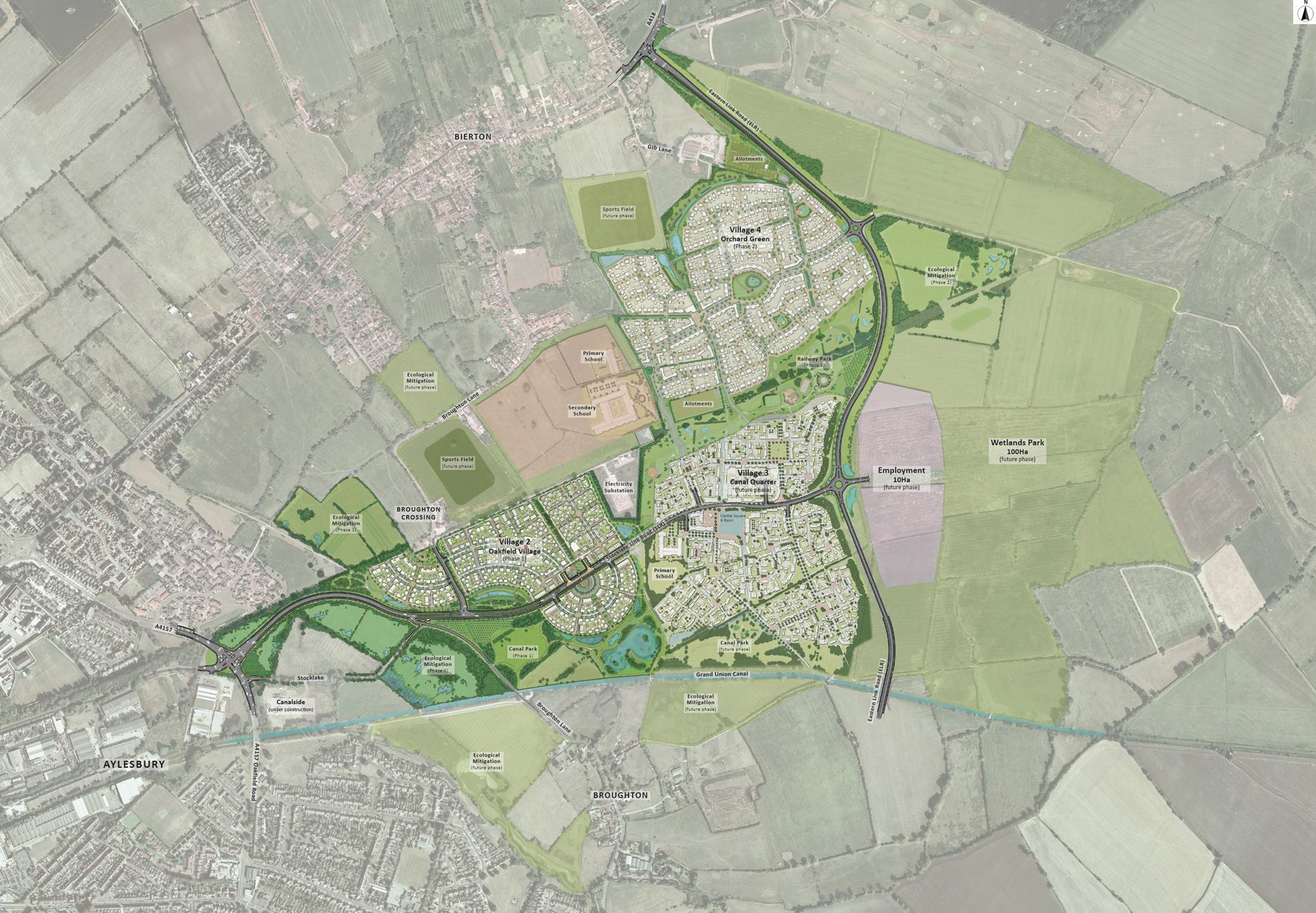 Overall Kingsbrook Plan