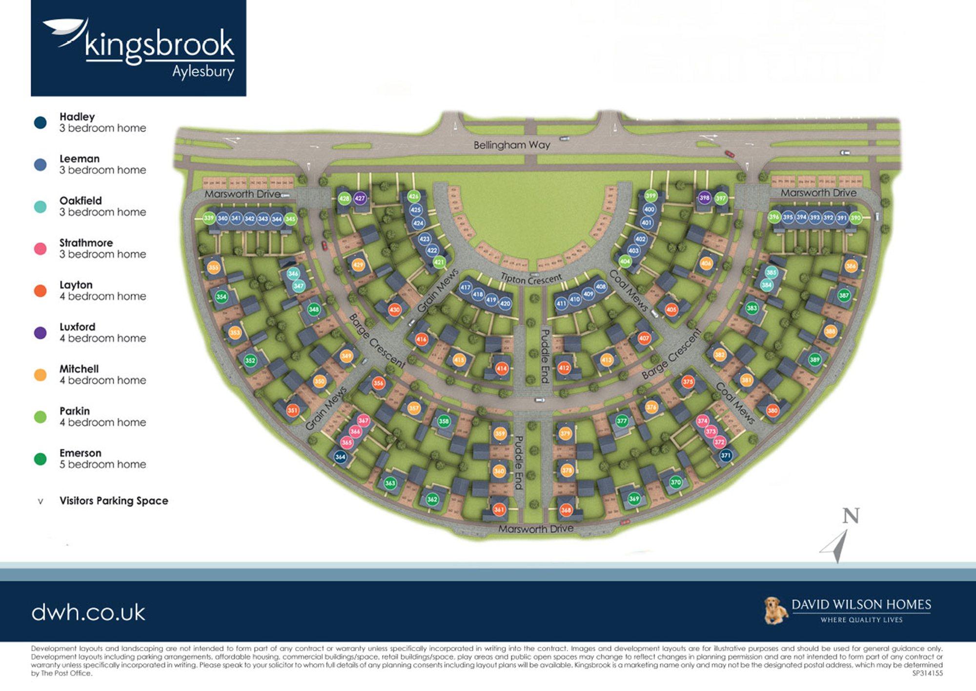Phase 2 Oakfield Village at Kingsbrook site plan