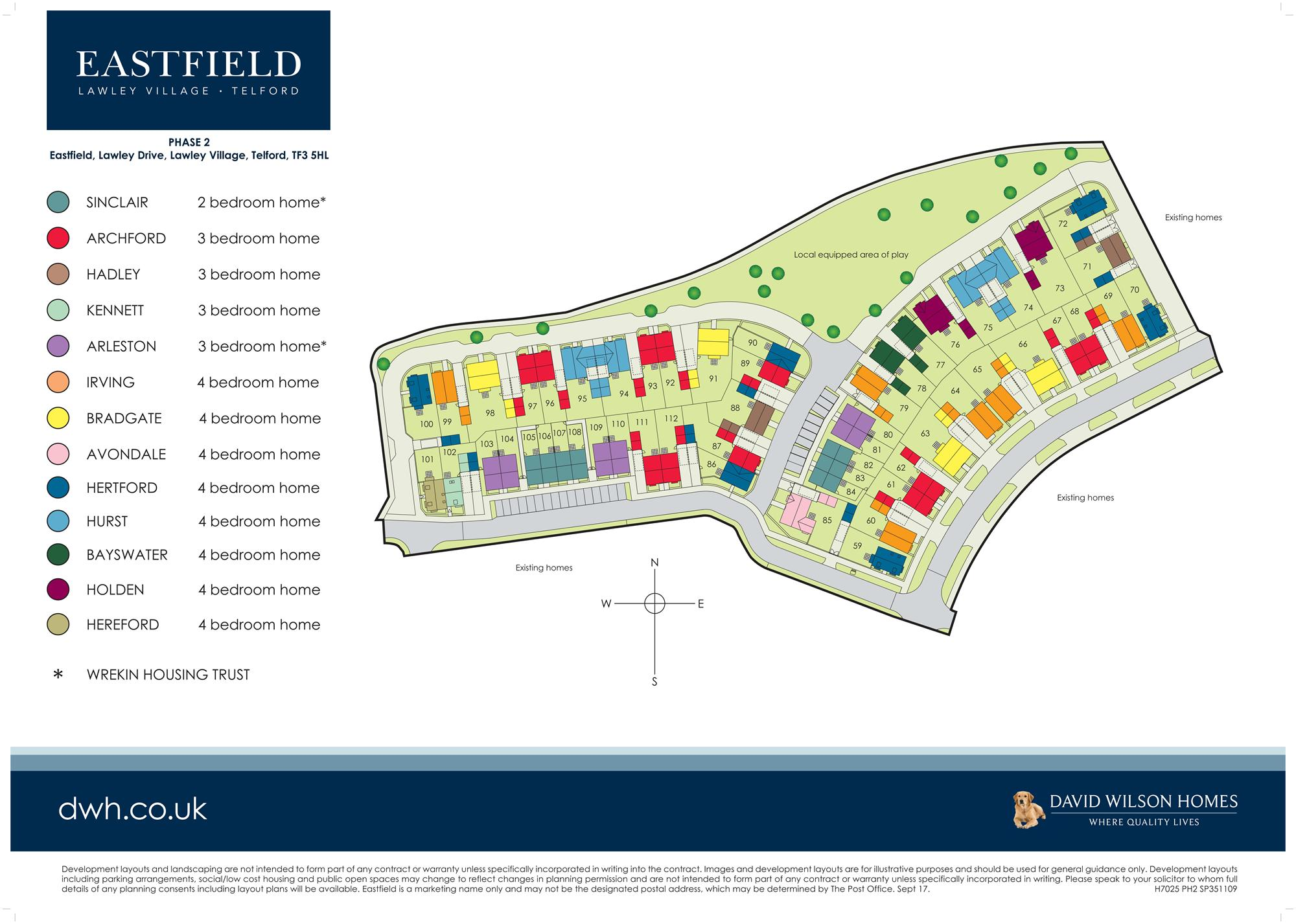 Eastfield site plan