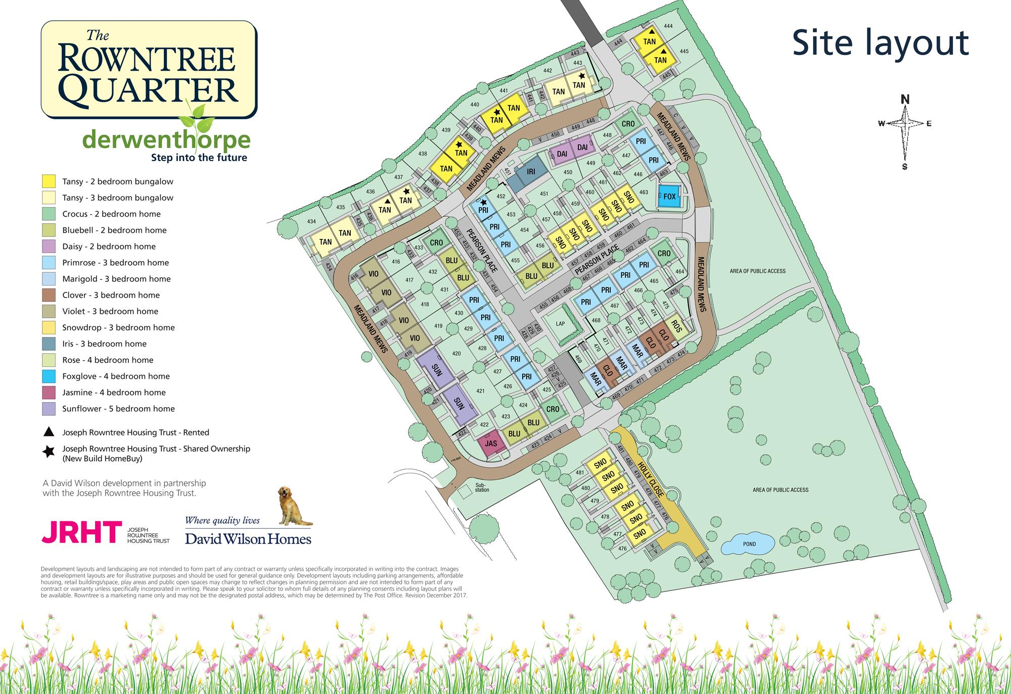 Rowntree Quarter Site Plan