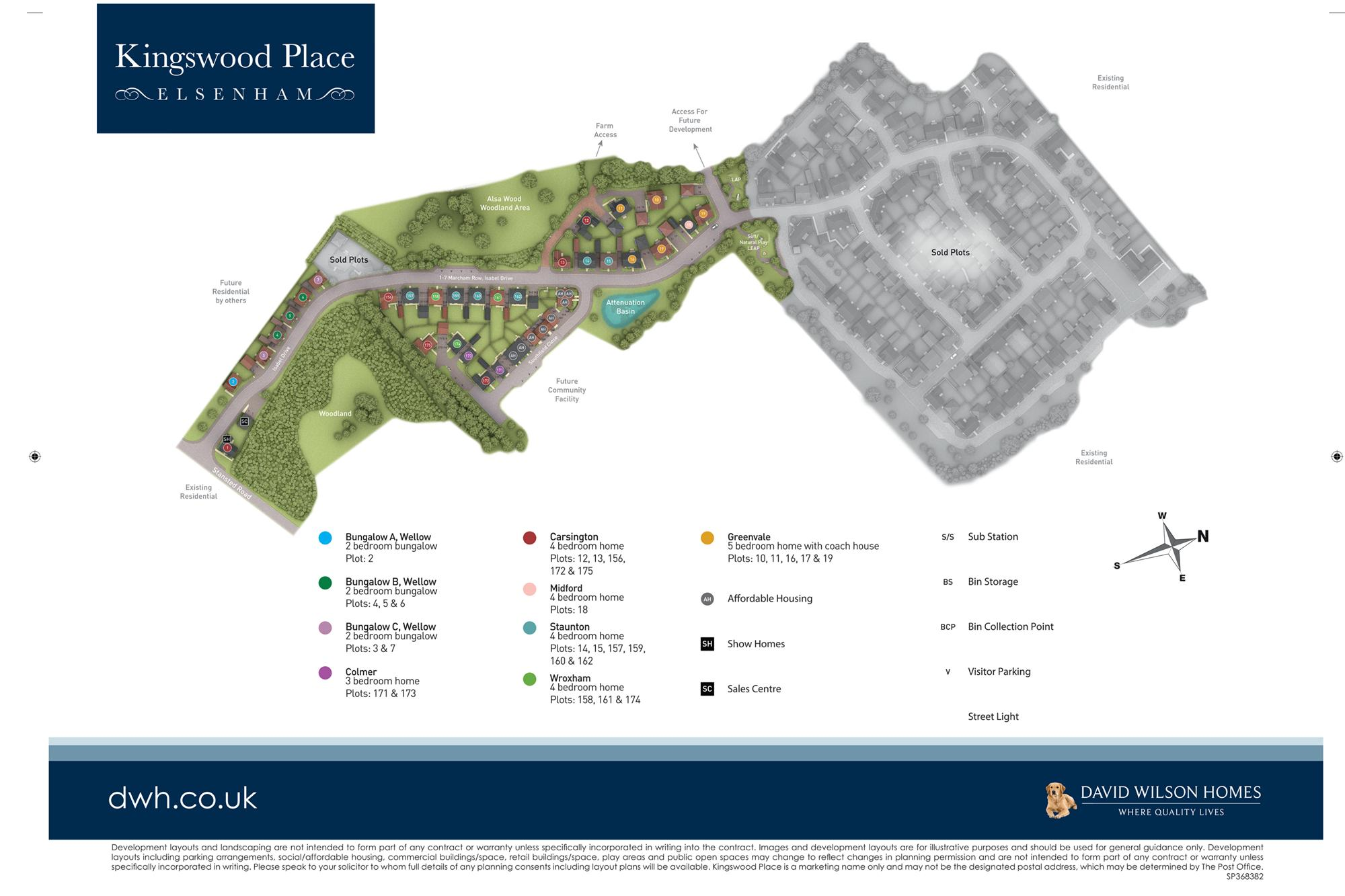 Kingswood Place Site Plan