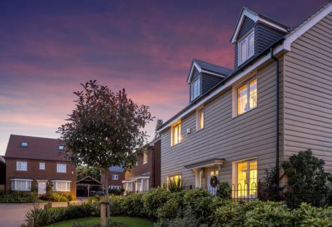 The Chase, Longfield, Kent by Ward Homes