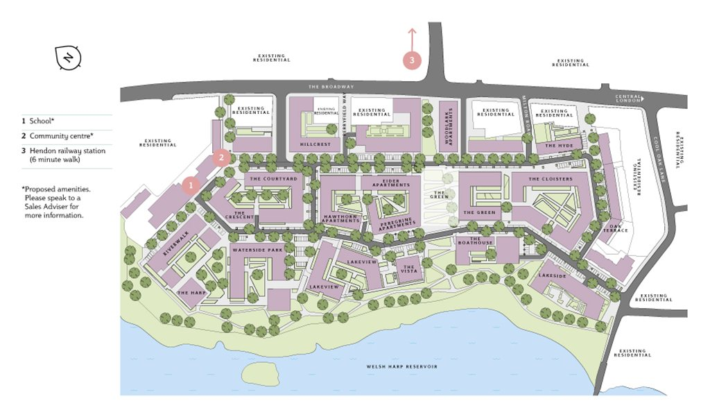 Hendon+Waterside+site+plan
